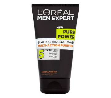 Loreal Men Expert Pure Power Charcoal Face Wash 150ml - UK