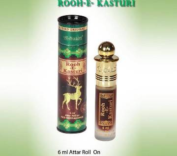 Al Nuaim Rooh-E-Kasturi আতর রোলঅন -৬মিলি. (ইন্ডিয়া)