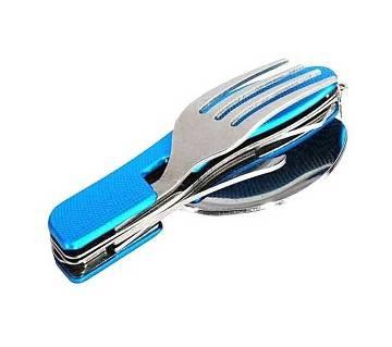 4 In 1 Multi Tools Fork Spoon-multicolor