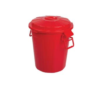 71402 Drum Bucket with Handle 50L - Red