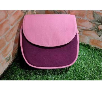 Fabric Saddle Bag