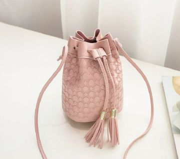 Women Bucket Shoulder Bag Cross body Handbag