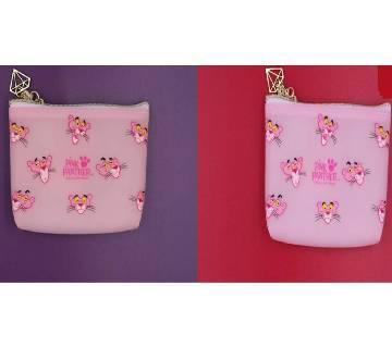 Pink panther mini purse bag