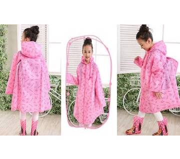 Thicken EVA Raincoat for Kids - Pink
