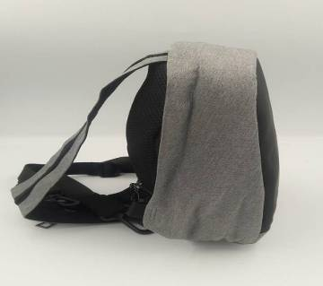 Anti Theft Cross body Chest Bag (Gray Color)