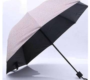 Sun & Rain Dual Protection Korean Tough Umbrella- Golden Color
