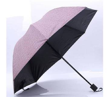 Sun & Rain Dual Protection Korean Tough Umbrella- Coffee Color