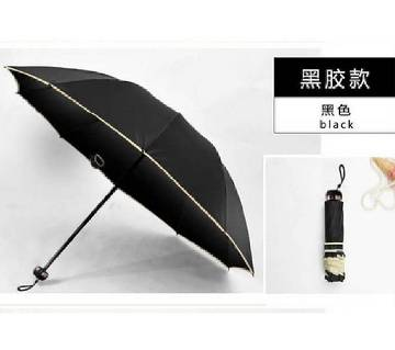 Classic Design 10 Bone Super Strong Umbrella-Black Color