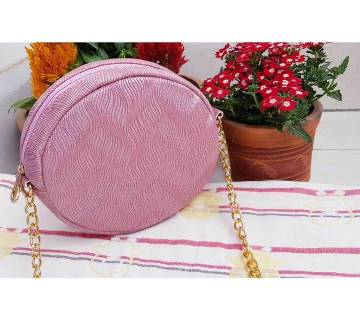 Round Shape Shoulder Bags for Women- Purple
