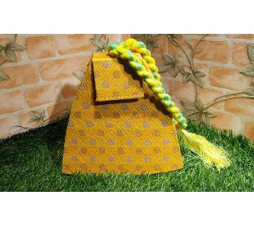 Handmade triangular shape Bag For Women