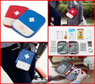 Portable Mini First Aid Pouch