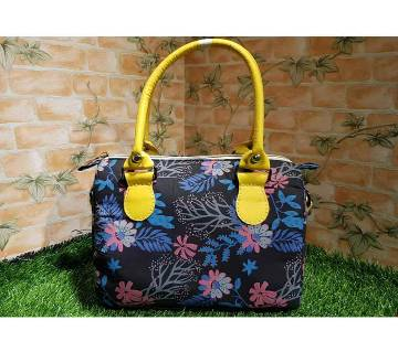 Flower Printed Shoulder Bag