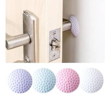 Furniture Crash Pad Door Doorknob Back Wall Protector (3 Pcs)