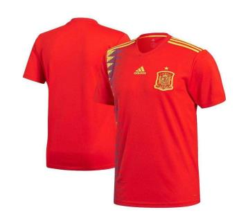2018 World Cup Spain Home Half Slave Jersey (Copy)