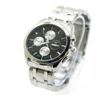 Tissot gents wrist watch copy-silver