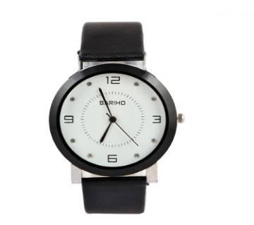 Ladies Analog Watch- Black & White
