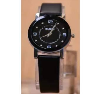 Ladies Analog Watch-Black