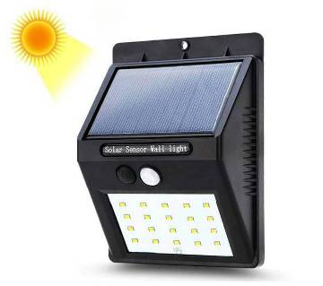 Solar Sensor Security Wall Light For Door