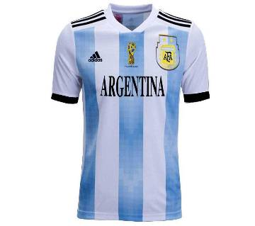 World Cup 2015 Argentina Half Slave Home Jersey