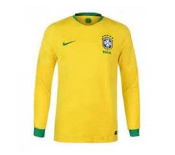 World Cup 2018 Brazil Full-Sleeve Home Jersey