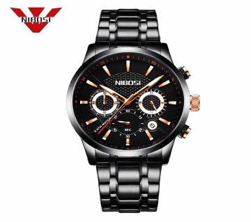 NIBOSI 2313-A Mens Chronograph Quartz Wristwatch
