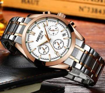 NIBOSI Mens Chronograph Quartz Wristwatch