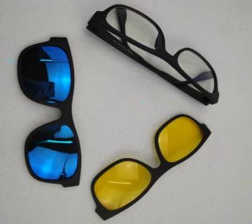 2 in1 Magnetic Night Vision Polarized Glass