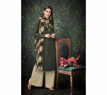 Original Unstitched Pashmina Suit From India