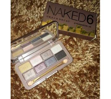 Naked6 Eyeshadow (8 Shade Plate) China