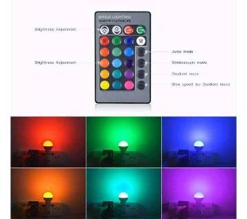 16 Color LED Remote Lamp