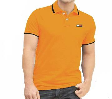 Mens Polo Shirt Solid Color