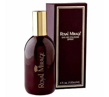 Royal Mirage Brown Eau de Cologne Classic Perfume 120ml - UAE