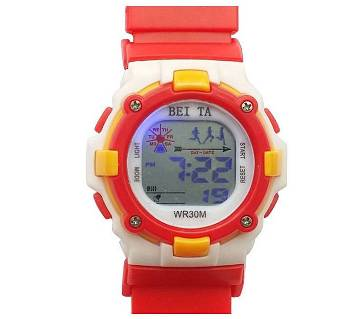 Wrist Watch for Kids Red