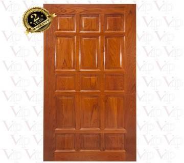 VIP-104  Seasoned European Steam Beech Wood Door Shutter. (without lacquer)