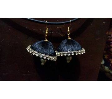 Silk Thread Jhumka / Earrings