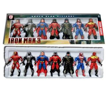 SUPER HERO FIGURE SET