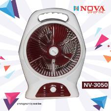 "Nova NV-3050 (12"") Rechargeable Fan"