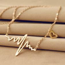 Ecg Heart পেনডেন্ট ফর লেডিজ (1 pic)