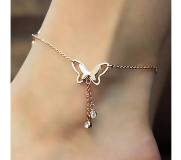 My Love Butterfly Rose Gold এংক্লেট বা ব্রেসলেট
