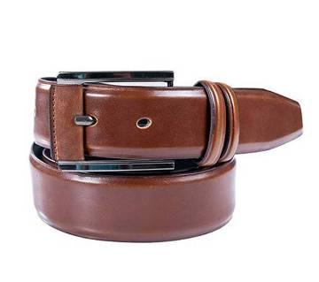 Brown Menz Leather Waist Formal Belt