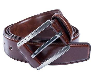 Mixed Leather Formal Belt For Men