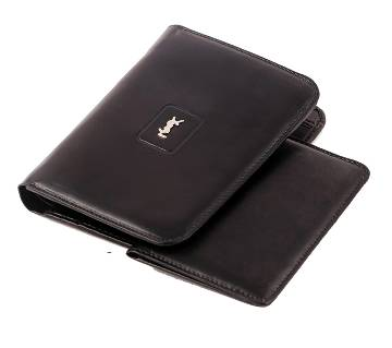 YSL leather wallet for men