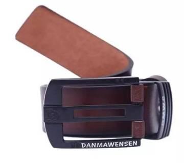 Brown Artificial Leather Formal Belt For Men