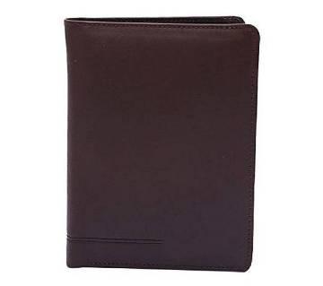 Saddle Brown Leather Wallet For Men