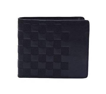 Black Leather Wallet For Men