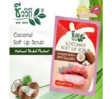 Bio Way Coconut Soft Lip Scrub (Thailand)