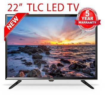 "TLC  22"" Basic Multimedia LED TV+Monitor"