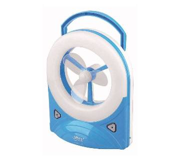 Rechargeable Mini Fan With Light