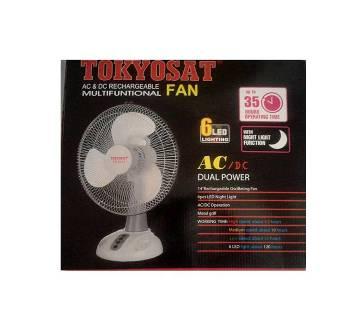 TOKYOSAT TS 8412 rechargeable fan