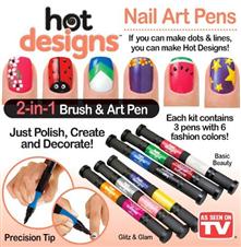 Hot Designs নেইল আর্ট পেন